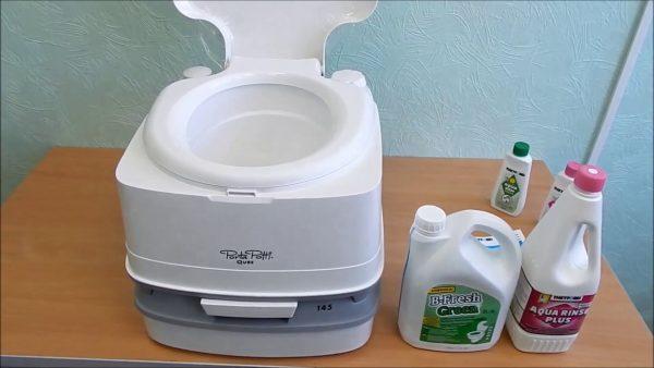 Жидкостный туалет для дачи