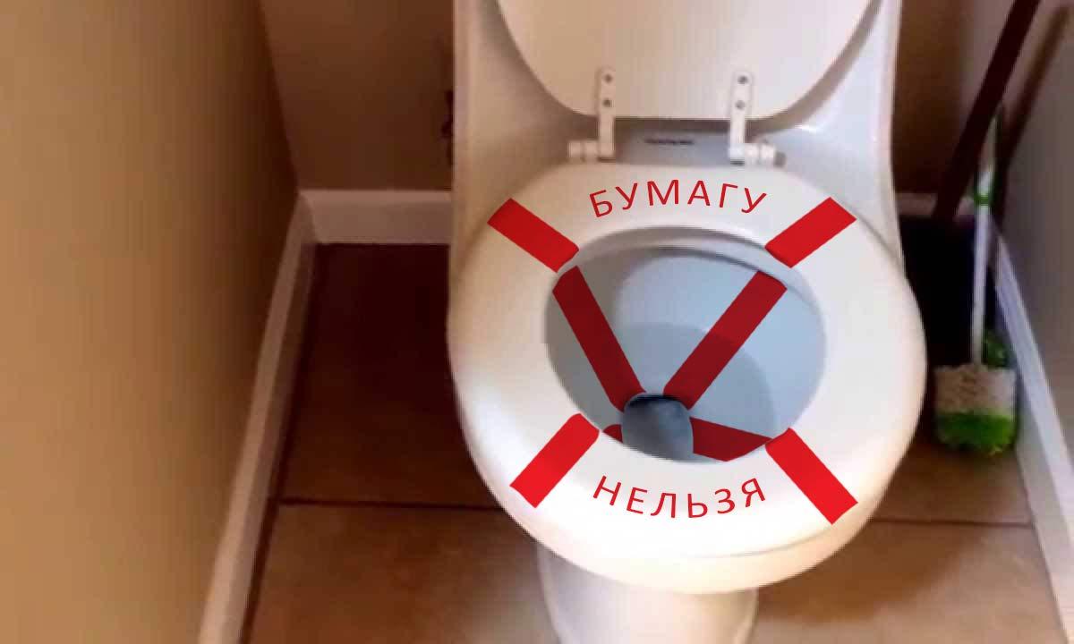 Бумагу в туалет не бросать прикольные картинки