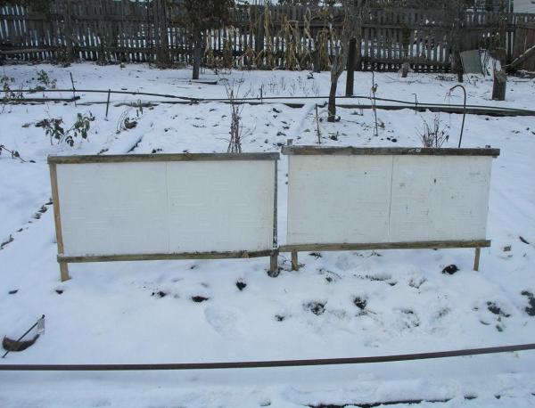 Снегозадерживающие щиты