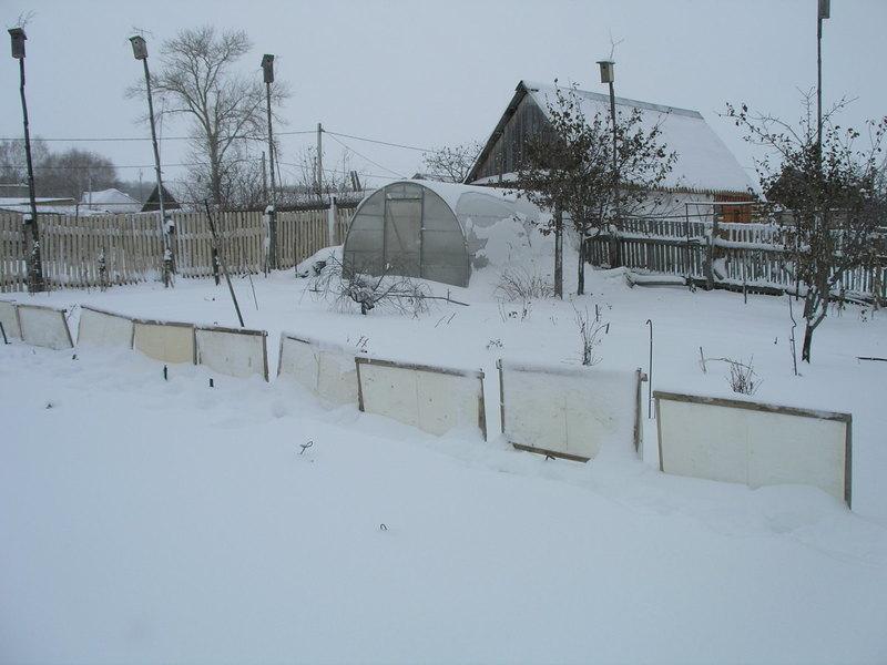 Как организовать снегозадержание на участке: принципы и подборка способов с фото