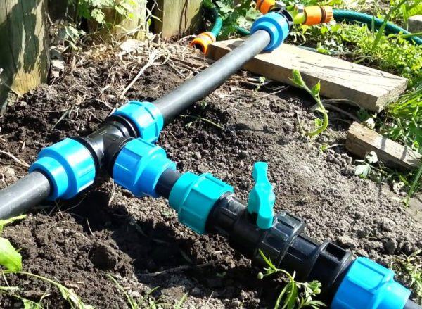 Летний водопровод в саду
