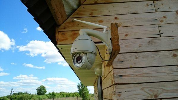 Система видеонаблюдения на даче