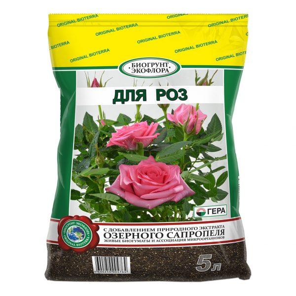 Магазинный субстрат для роз