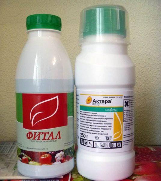 Препараты для профилактических обработок
