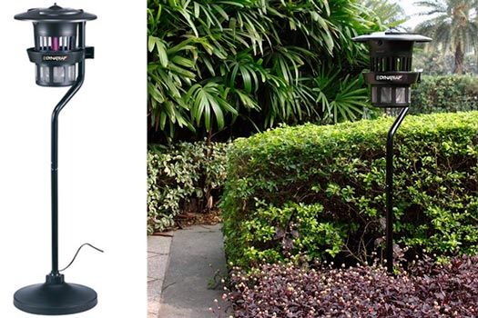 1/2 Acre Pole Mount With Water Tray Dyntrap Insect Trap