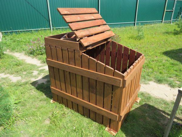 Ящик для компоста своими руками: из чего и как можно сделать - Интерьер