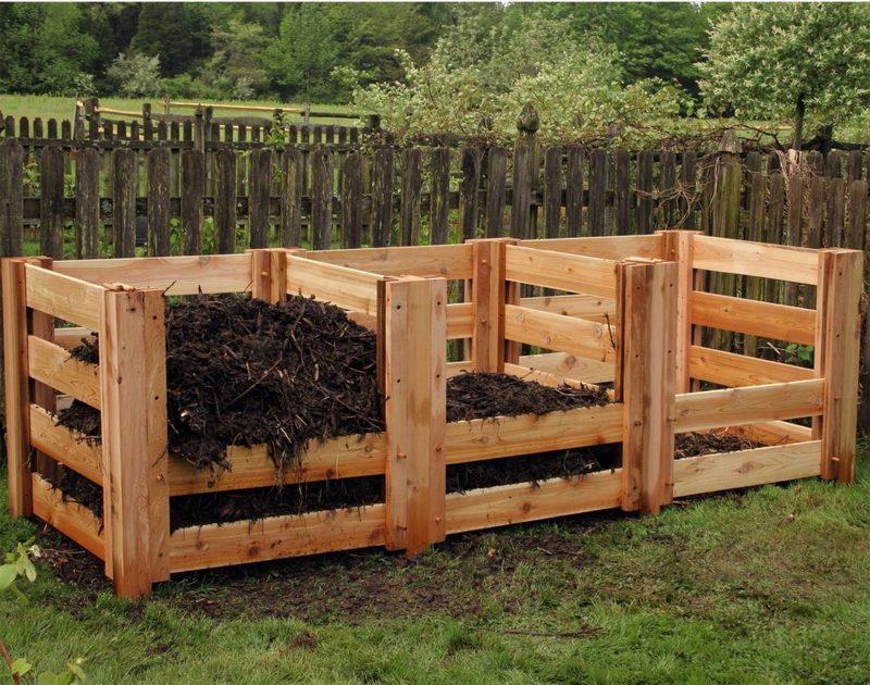 Ящик для компоста своими руками: из чего и как можно сделать