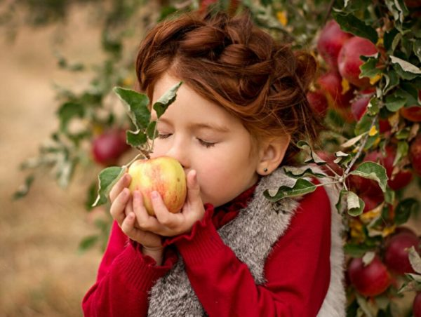 Ароматные яблоки