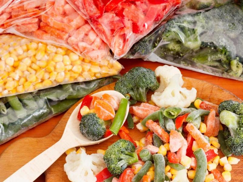 Как самим заготовить замороженную овощную смесь, похожую на ту, что продают в магазинах - Интерьер