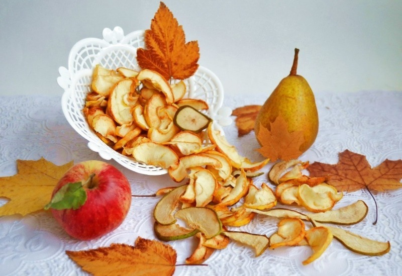 Что полезного и вкусного можно приготовить с засушенными на зиму фруктами и овощами - Интерьер